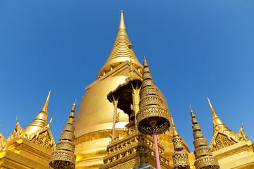 Gold Stupa at Wat Phra Kaew, Bangkok