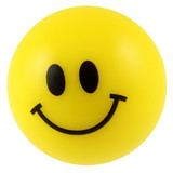 balle en mousse, smiley jaune souriant