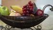 track slide of fruit basket
