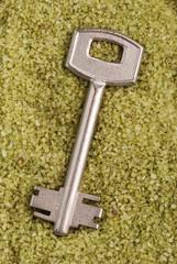 chiave sulla sabbia