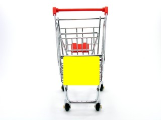 Shopping Trolly with Copy Space