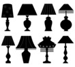 Table Lamp Light Black