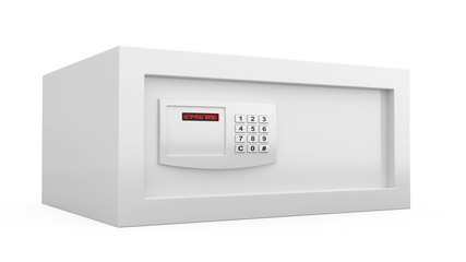Safe with digital lock