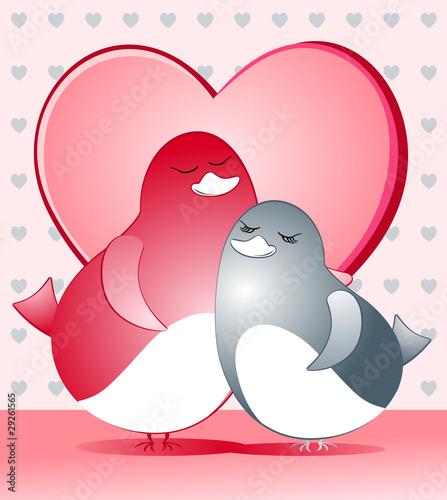Passerotti innamorati - Sparrows in love