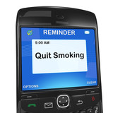 Calendar reminder, quit smoking