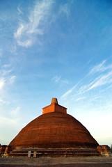 Sri Lanka, Anuradhapura : Jetavana Stupa
