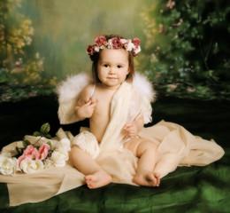 Sweet baby girl angel