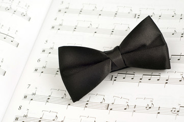 bow tie and music