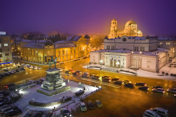 Sofia by night
