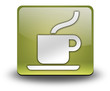 "Yellow 3D Effect Icon ""Coffee Shop / Hot Beverage"""