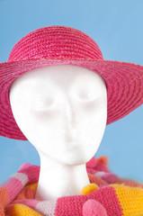 Styrofoam head modeling accessories