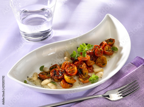 tomate confites en sauce cannellini
