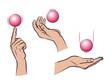 Hände und Ball_Farbe