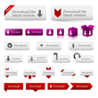 download icons, buttons & web design elements