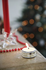 Tealight at Christmas