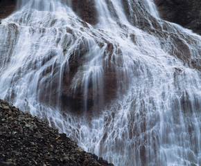 Cascade waterfall, close-up
