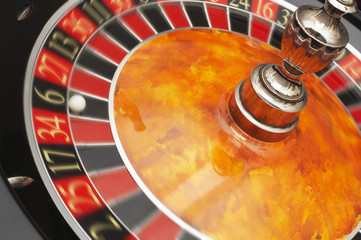 Roulette Wheel, close up