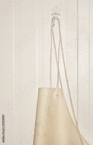 Butcher's Apron Hanging on Wall
