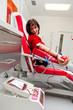 Blutabnahme beim Blutspenden in Blutlabor