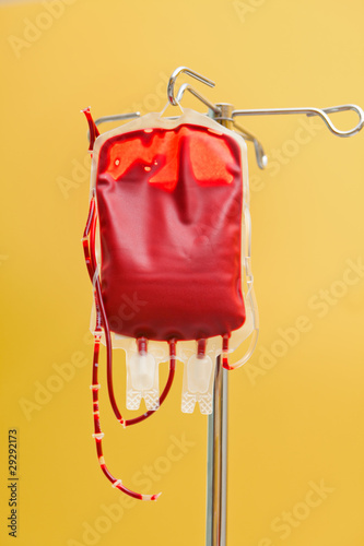 Blutkonserve in einer Klinik