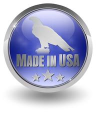 button adler eagle made in usa
