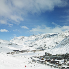 Val Claret, Tignes, Alps Mountains, Savoie, France