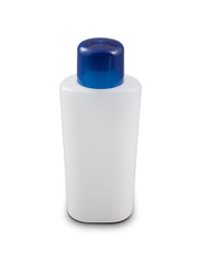 Nail polish remover plastic bottle