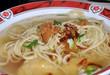 soupe chinoise raviolis nouilles et oignons confits