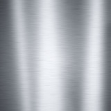 Fototapety Brushed aluminum metal plate, useful for backgrounds