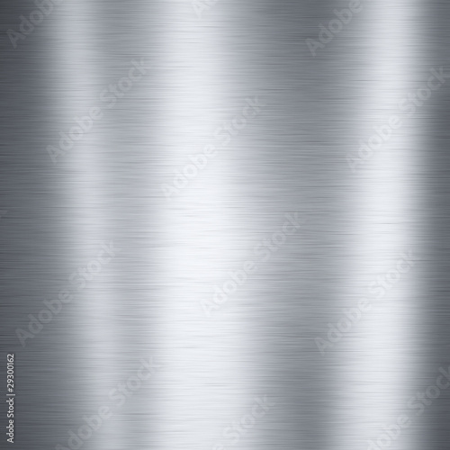 Brushed aluminum metal plate, useful for backgrounds