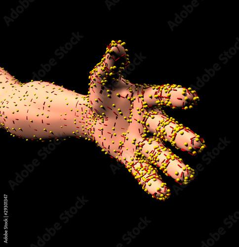 Virus Hand 01