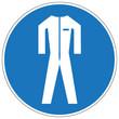 Schutzkleidung benutzen