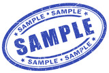 Sample stamp