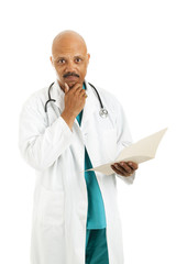 Serious Doctor Considers Options