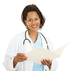 Female African-American Doctor