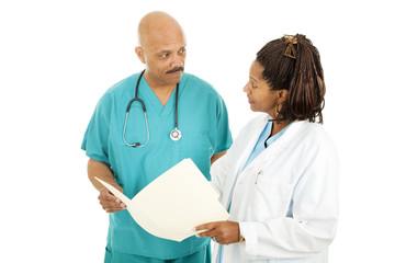 Medical Doctors Reading Chart