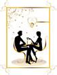 bar restaurant lounge coffee women Illustration vector love