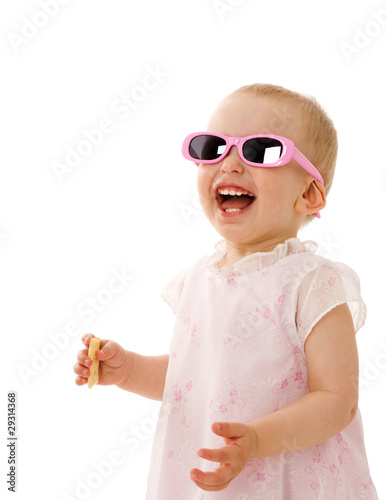 Girl in sunglasses