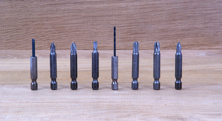 Replacement nozzles for a screwdriver