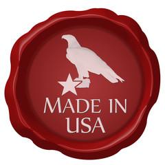 siegel seal made in usa adler stern star eagle