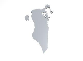 Bahrain Karte