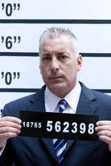 Businessman mugshot