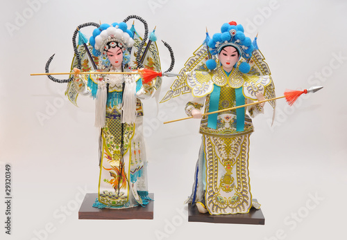 peking opera dolls