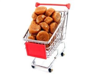 Shopping Trolly with Toffees