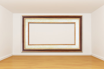 gallery with picture frame