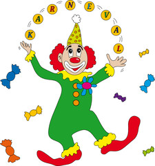 clown karneval