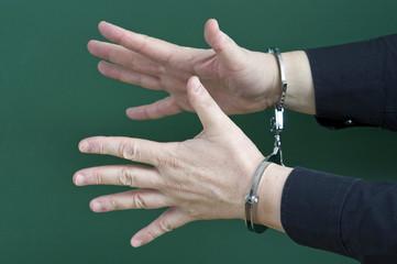 Handfesseln-Hilfslos