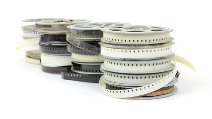 Old family movie reels