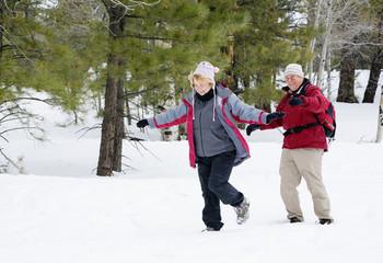 Active Retired Couple