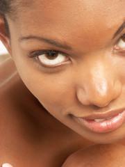 Belleza afroamericana.